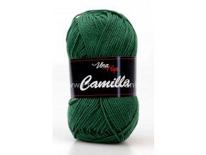 Příze Camilla 8157 lahvově zelená