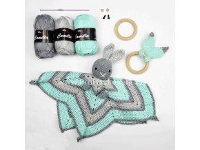 příze Camilla 8234 ocelově šedá