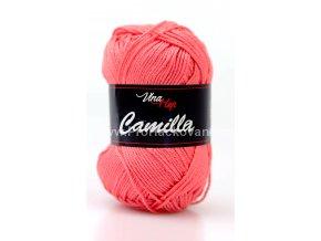 příze Camilla 8017 lososově korálová