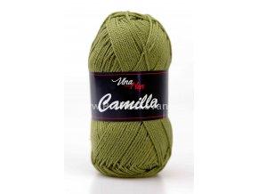 příze Camilla 8168 olivově zelená