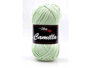 příze Camilla 8165 jemná zelenkavá