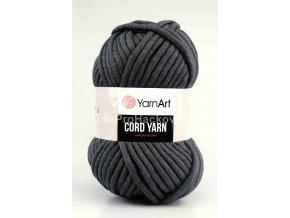 Cord Yarn 758 antacitově šedá