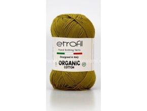 příze Organic Cotton EB027 anýzově zelená