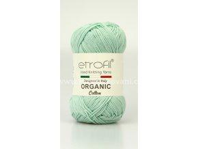 příze Organic Cotton EB010 světlá ledově modrá