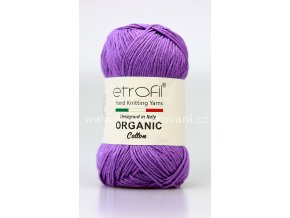 příze Organic Cotton EB021 lila