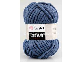Cord Yarn 761 jeans modrá