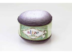 příze Bella Ombre batik 7411 odstíny jemné šedé