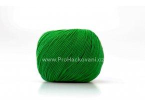 příze Jeans 8147 trávově zelená
