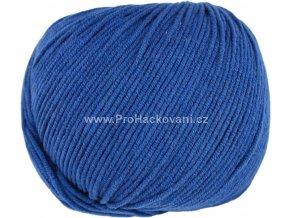 příze Jeans 8116 safírově modrá
