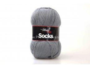 příze Socks 6235 šedá