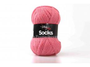 příze Socks 6033 jahodová