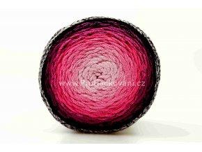 Chainy Cotton Cake ReTwisst 08 variace růžová, malinová, bordo