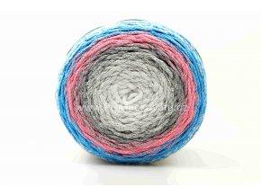Chainy Cotton Cake ReTwisst 31 variace  bílá, šedá, růžová, modrá