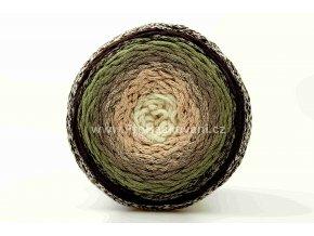 Chainy Cotton Cake ReTwisst 32 variace smetanová, béžová, khaki