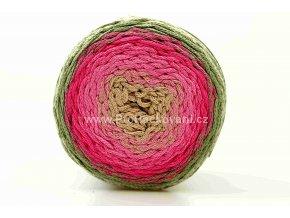 Chainy Cotton Cake ReTwisst 19 variace smetanová, růžová, malinová, béžová