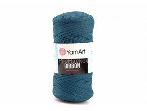 Ribbon Yarn Art petrol