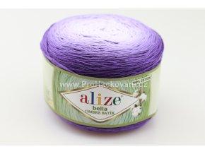 příze Bella Ombre batik 7406 odstíny fialové