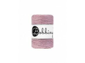 Bobbiny macrame Cord 1,5 mm Starorůžové (Dusty pink)