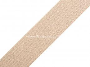 Popruh polypropylénový 2 cm krémový