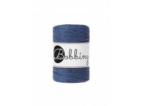Bobbiny macrame Cord 1,5 mm Jeans modrá (Jeans)