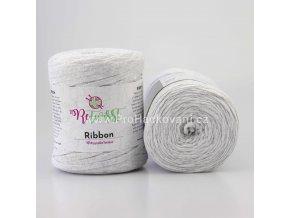 Ribbon ReTwisst 4 světle šedá