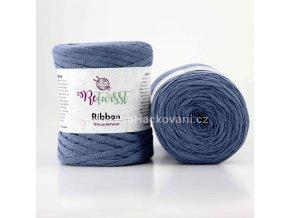 Ribbon ReTwisst 5 modrá jeans