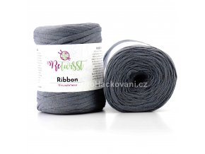 Ribbon ReTwisst 6 tmavě šedá