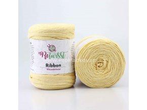 Ribbon ReTwisst 10 světle žlutá