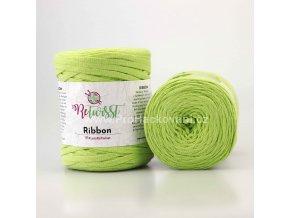 Ribbon ReTwisst 14 limetková