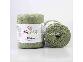 Ribbon ReTwisst 16 olivové