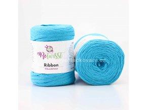 Ribbon ReTwisst 18 modrá tyrkys