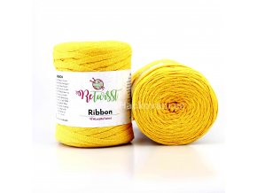 Ribbon ReTwisst 25 slunečnicová