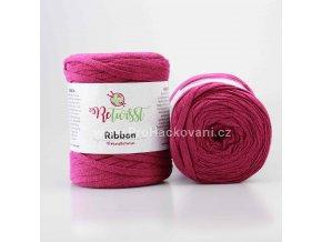 Ribbon ReTwisst 28 purpurově fialová
