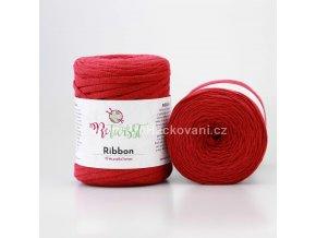 Ribbon ReTwisst 30 vínovo červená