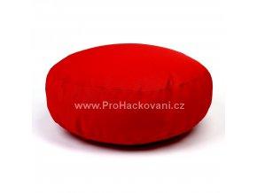 Vnitřní vak do pufu 38x10 cm červený