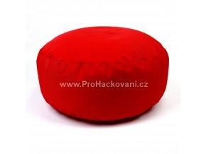 Vnitřní vak do pufu 38x15 cm červený
