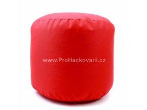 Vnitřní vak do pufu 38x30 cm červený