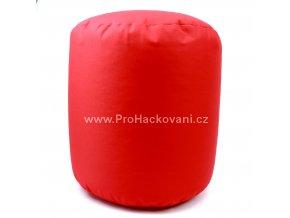 Vnitřní vak do pufu 38x40 cm červený