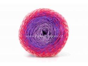 příze Floxy 9928 levandulová, fialová, růžová