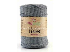 Macrame String 5 mm 06 šedá