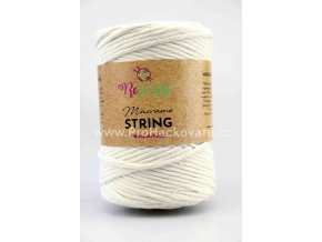 Macrame String 5 mm 07 slonová kost