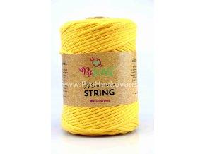 Macrame String 5 mm 25 slunečnicová