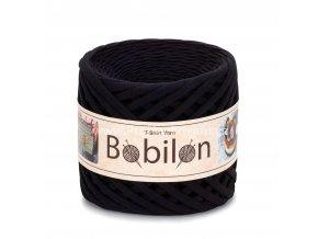 špagáty Bobilon Micro 3 - 5 mm Black Pasion