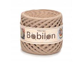 špagáty Bobilon Micro 3 - 5 mm Caramel