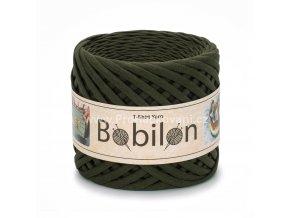 špagáty Bobilon Micro 3 - 5 mm Moss Green