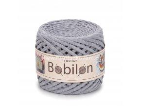 špagáty Bobilon Micro 3 - 5 mm Gray Melange