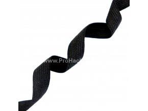 Guma, pruženka plochá 12 mm černá