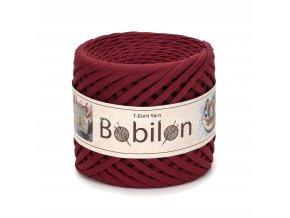 špagáty Bobilon Mini 5 - 7 mm Burgundy
