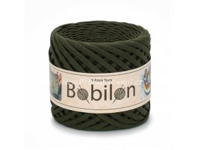špagáty Bobilon Mini 5 - 7 mm Moss Green