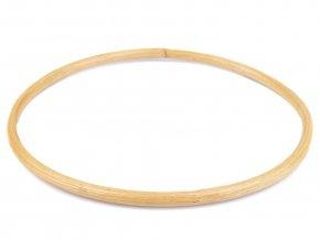 Bambusový kruh - Lapač snů 16,5 cm
